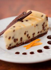 Chocolate chip cheesecake