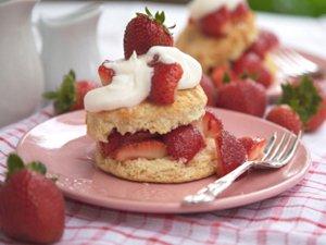 strawberry short cake recipe